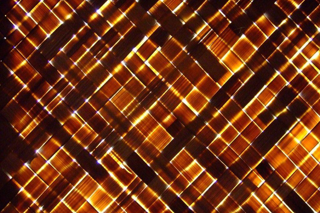 Cortinas y persianas de bambú